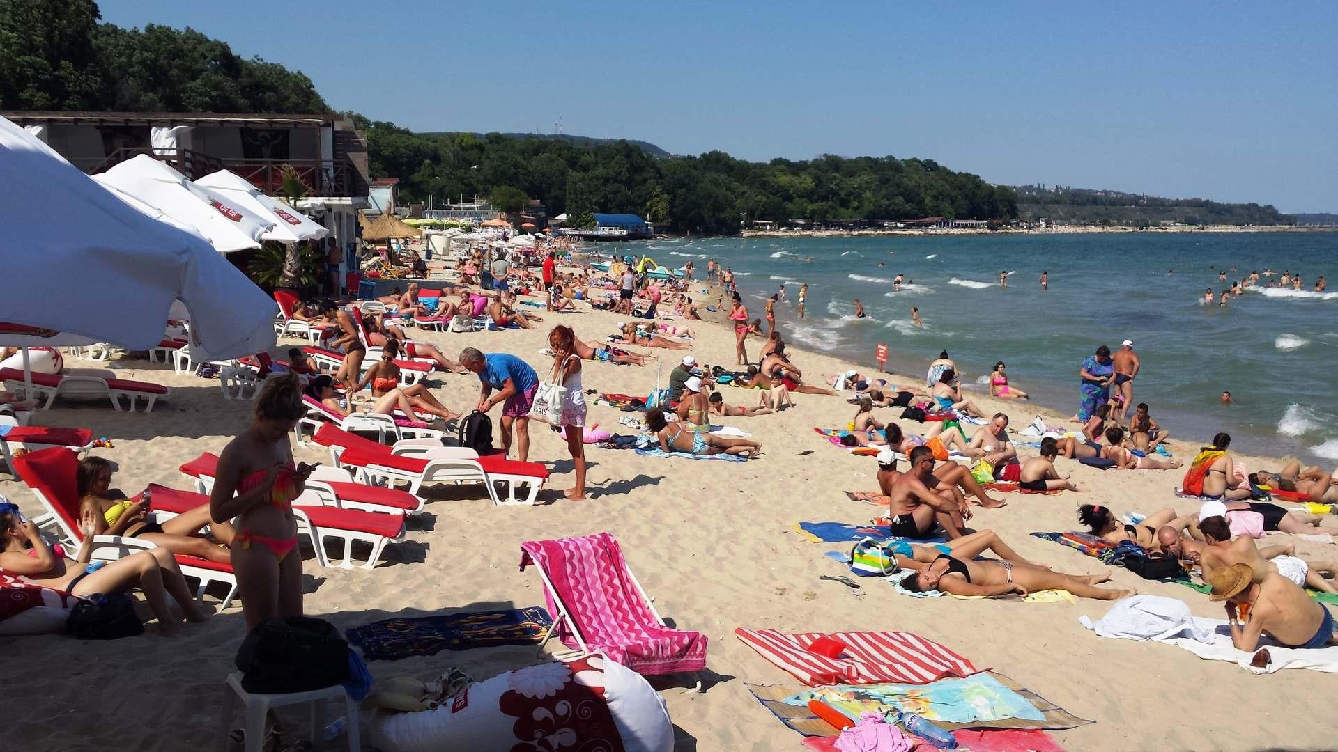 Фото русских на пляжах варны